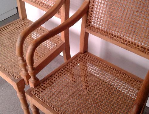 Gerestaureerde stoelen